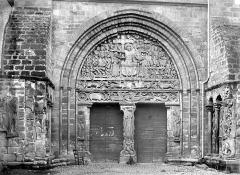 Ancienne abbaye - Portail de la façade sud