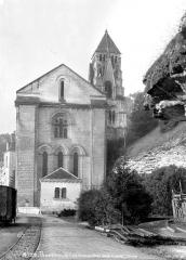 Ancienne abbaye - Eglise Saint-Pierre-et-Saint-Sicaire : Ensemble est