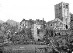 Abbaye de Saint-Martin du Canigou - Ensemble sud-est