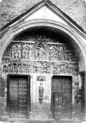 Ancienne abbaye Sainte-Foy - Portail de la façade ouest
