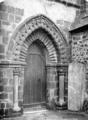 Chapelle Saint-Crépin - Portail de la façade nord