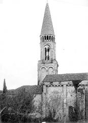 Eglise Notre-Dame - Clocher, côté nord
