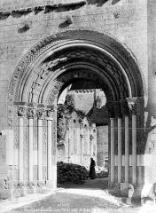 Abbaye Notre-Dame - Eglise : Ancien portail de la façade ouest