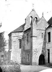 Chapelle des Templiers - Façade nord