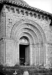 Eglise Saint-Michel - Portail de la façade ouest