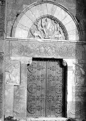 Ensemble historique et archéologique de la cité épiscopale et canoniale de Maguelone - Portail de la façade ouest