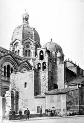 Eglise de la vieille Major (ancienne cathédrale) - Façade sud
