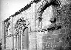 Restes de l'ancienne église Notre-Dame-de-la-Couldre - Façade ouest