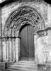 Restes de l'ancienne église Notre-Dame-de-la-Couldre - Portail de la façade ouest