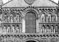 Eglise Notre-Dame-la-Grande - Façade ouest : Partie médiane