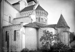 Eglise abbatiale bénédictine Saint-Pierre - Abside, côté sud