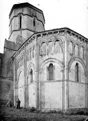 Eglise Saint-Trojan - Abside, côté sud-est