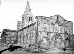 Eglise abbatiale Saint-Amand - Ensemble nord-ouest