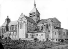 Eglise abbatiale Saint-Benoît - Ensemble sud