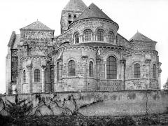Eglise abbatiale Saint-Benoît - Ensemble est