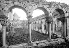 Ancienne cathédrale Notre-Dame - Cloître (ruines) : Vue d'ensemble