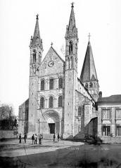 Ancienne abbaye Saint-Georges-de-Boscherville - Eglise : Ensemble ouest