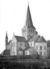 Ancienne abbaye Saint-Georges-de-Boscherville - Eglise : Ensemble sud-est