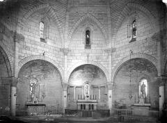 Eglise Saint-Michel - Vue intérieure du chœur