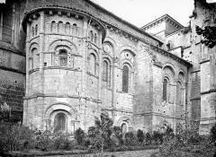 Eglise Saint-Eutrope - Façade nord