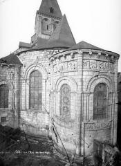 Eglise Notre-Dame la Blanche - Abside, côté sud-est