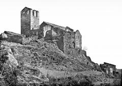 Abbaye de Serrabona - Eglise : Ensemble sud-est