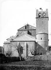 Ancienne cathédrale et cloître - Eglise : Ensemble est