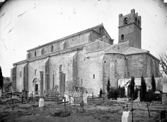 Ancienne cathédrale et cloître - Eglise : Ensemble sud-est