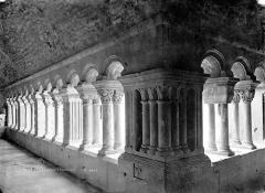 Ancienne cathédrale et cloître - Cloître : Vue intérieure des galeries est et nord