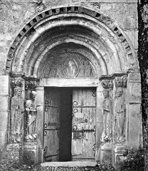 Eglise Saint-Just - Portail de la façade nord