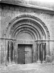 Eglise Saint-Jacques - Grand portail de la façade nord