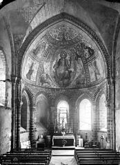 Chapelle Saint-Crépin - Vue intérieure du choeur