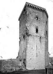 Vestiges du château Moncade - Donjon
