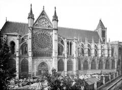 Basilique Saint-Denis - Façade nord