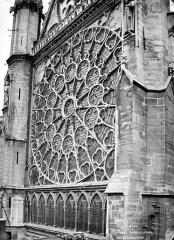Basilique Saint-Denis - Transept sud : Rose