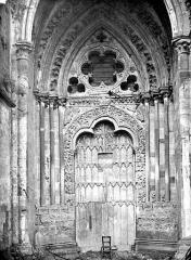 Cathédrale Notre-Dame - Portail sud de la façade ouest