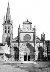 Ancienne cathédrale, dite église Saint-Jean - Façade ouest