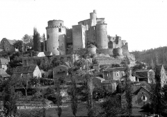 Château de Bonaguil - Vue d'ensemble, côté nord