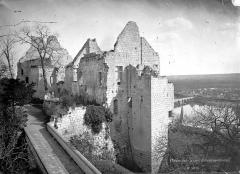 Château - Château du Milieu, Grand Logis : Vue d'ensemble, côté nord-ouest