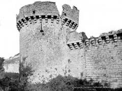 Remparts - Tour, côté ouest