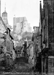 Ancien château - Donjon, côté est