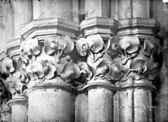 Cathédrale Saint-Cyr et Sainte-Julitte - Chapiteau de la nef