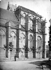 Eglise Saint-Sulpice - Abside, côté sud