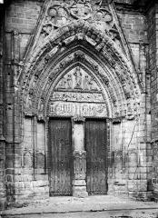 Eglise Saint-Sulpice - Portail de la façade ouest