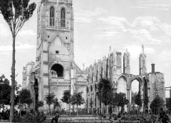 Ancienne abbaye de Saint-Bertin - Ensemble est