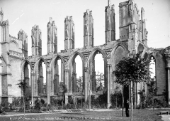 Ancienne abbaye de Saint-Bertin - Vue intérieure du bas-côté nord