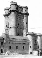 Château de Vincennes et ses abords - Donjon : Ensemble sud-est