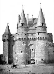 Château - Châtelet, côté sud