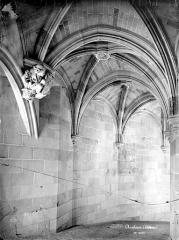 Château - Tour des Minimes : Voûte du grand escalier