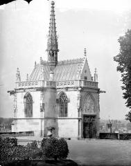 Château - Chapelle : Ensemble nord-ouest